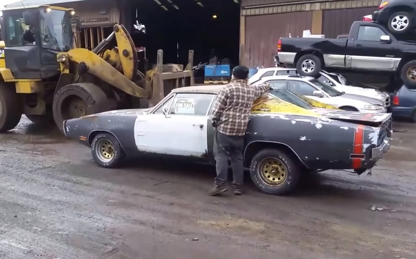 1970 Dodge Charger R T Crushed By Angry Seller