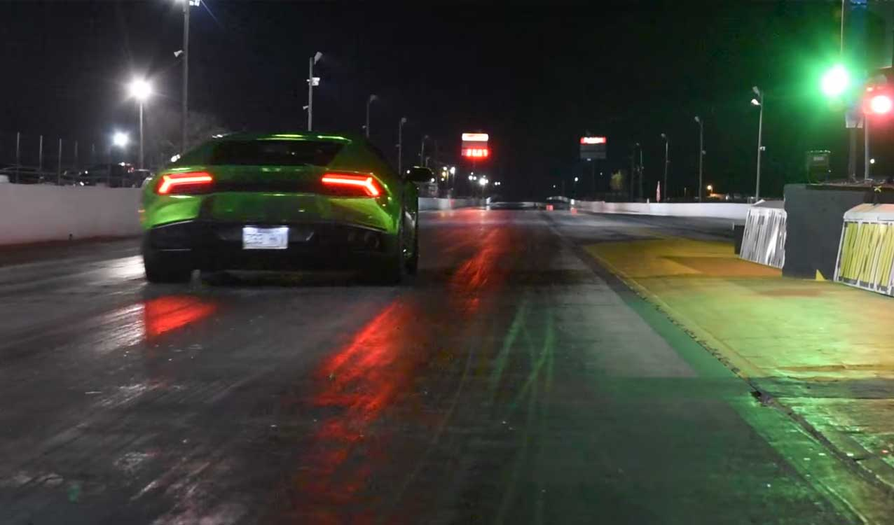 Watch Fastest Lamborghini Huracan Ever Run 0 60 Mph In 1 9 Seconds
