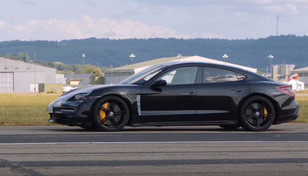 Porsche Taycan Electric Does 0 124 Mph Over 30 Times On Test Track