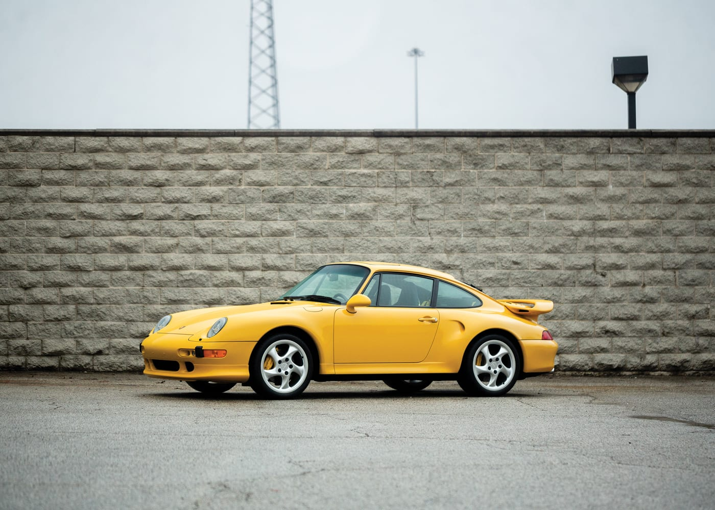 1997 Porsche 911 Turbo S With 88 Original Miles Heading To Auction