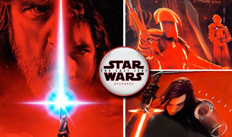 Star Wars 8 Amazing New Images Of Kylo Ren Rey Luke The