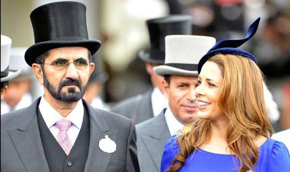 Princess Haya Of Jordan And Mohammed Bin Rashid Al Maktoum Dubai At Royal Ascot Day