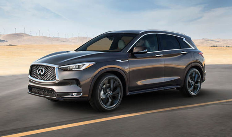 Infiniti QX50 SUV features new petrol engine with diesel car ...
