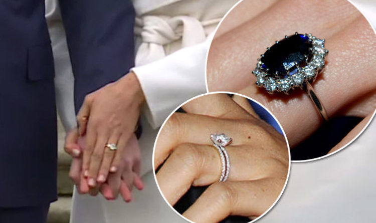 Meghan Markle engagement ring How does it compare to Kate