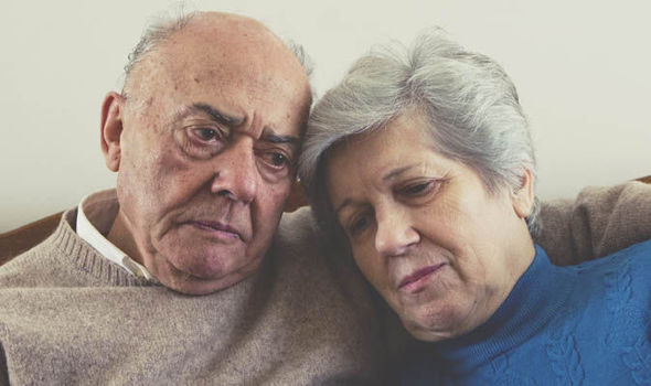 Image of: Portrait Elderly Couple Looking Sad Daily Express Fraudsters Are Tricking Elderly Into Giving Over Their Savings