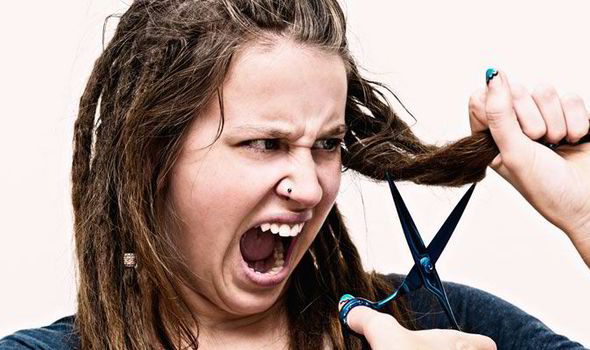 Women Suffer Twenty Years Of Bad Hair Days In A Lifetime Uk News