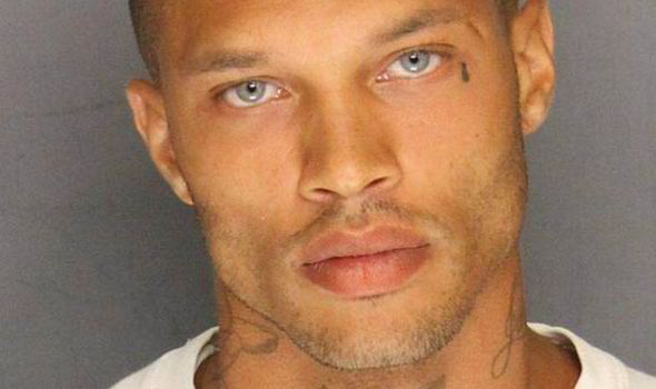 is this the world s best looking criminal handsome mugshot sends