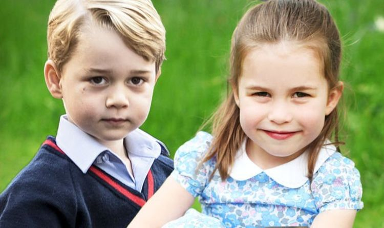 Princess Charlottes Sweet Nod To Older Brother Prince George In Birthday Snaps Revealed