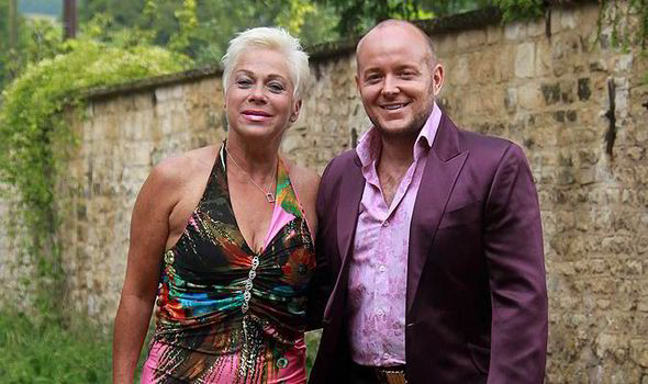 Denise Welch Lisa Maxwell Wedding Reception Paul Jessop Loose Women