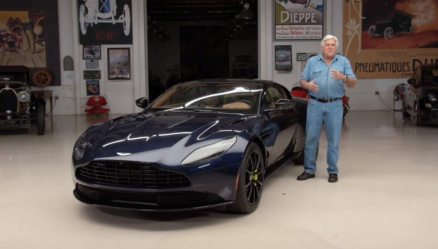 Jay Leno Drives The Aston Martin Db11 Amr