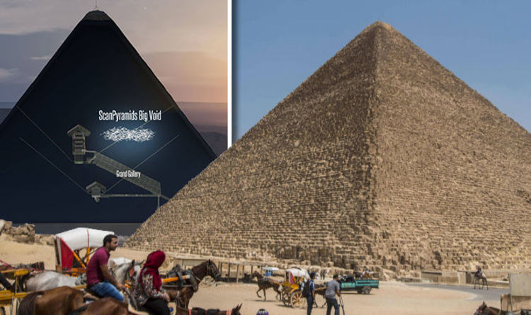 Revealed scientists discover huge void inside great pyramid revealed scientists discover huge void inside great pyramid science news express gumiabroncs Choice Image