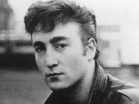 John Lennon In Germany Playing With First Band The Quarrymen