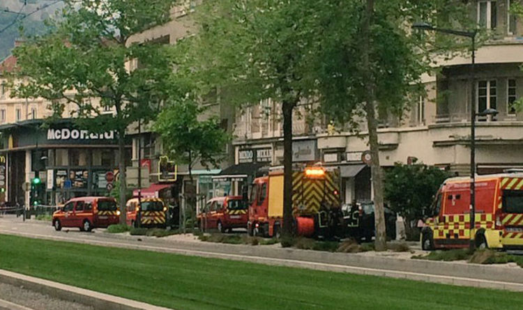 Diners flee after explosion at McDonalds in French town | World ...