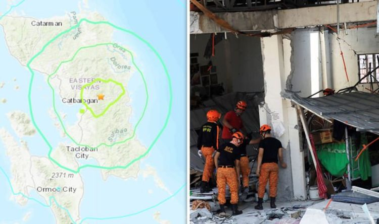 Philippines earthquake today: More MASSIVE quakes hit - Is there a