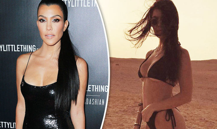 Hd Pics Of She Is Middle Aged She Is Gorgeous And She Is Stark Naked kourtney kardashian exposes sideboob as she poses completely naked