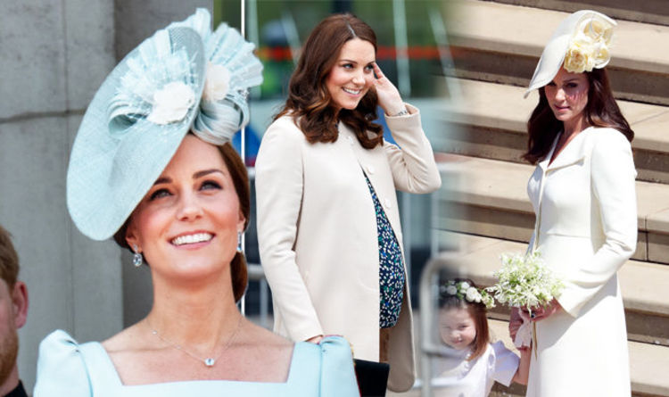 bf84b2be49b Kate Middleton baby weight loss revealed as Duchess looks slim two months  after birth