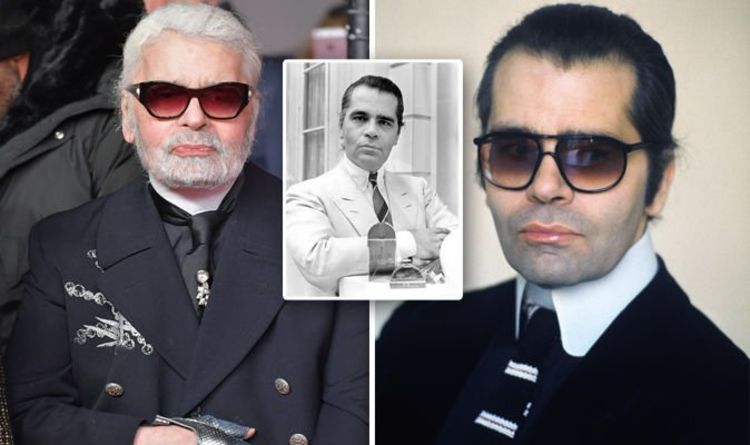 d56100f1a Karl Lagerfeld young: What did Chanel designer look like in the early days  of his career?