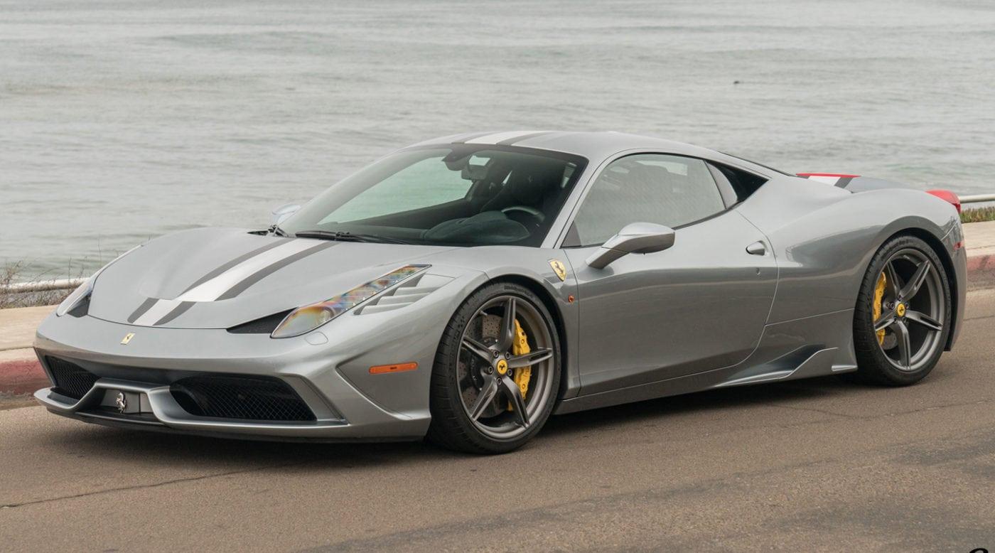 Pristine 2015 Ferrari 458 Speciale For Sale