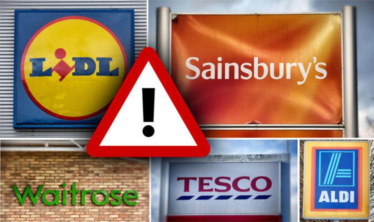 Listeria and salmonella WARNING: Aldi, Lidl, Tesco, Sainsburys