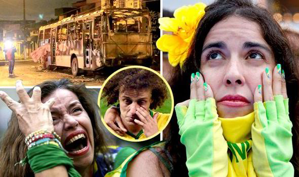 Remarkable, Brazil world cup fans