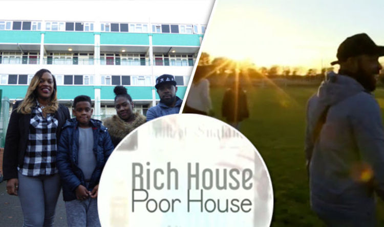Rich House Poor House The Webbs From East London Swap With The