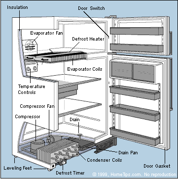 How a Refrigerator Works   HomeTipsHomeTips