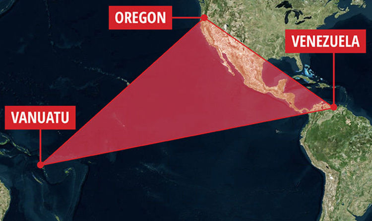 Ring Of Fire Map Earthquakes Hit Pacific Triangulation Points