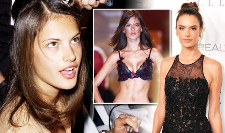 Alessandra ambrosio see through lingerie amusing piece