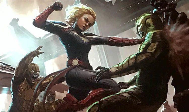 Captain Marvel Who Are The Villains And Who Are The Skrulls