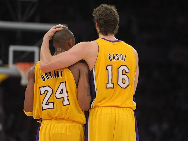 5e306e2e713 Lakers News: Pau Gasol Believes 'Nobody Is Quite Like' Kobe Bryant After  6.5 Seasons Together