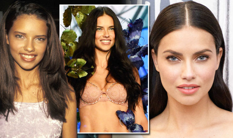 a8c2ba7010 Victoria Secret model Adriana Lima then and now  Throwback pictures of  Angel age 15