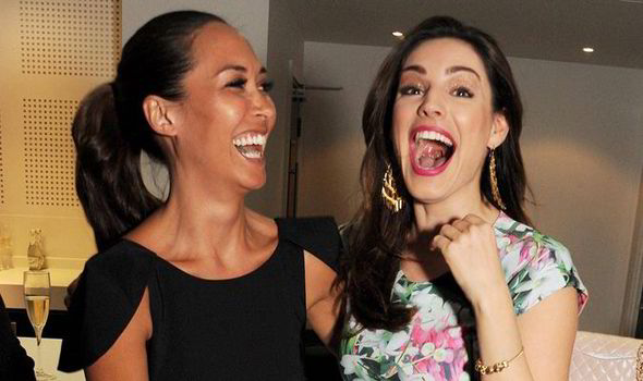 Myleene And Kelly Delighted To Be At The Charity Do