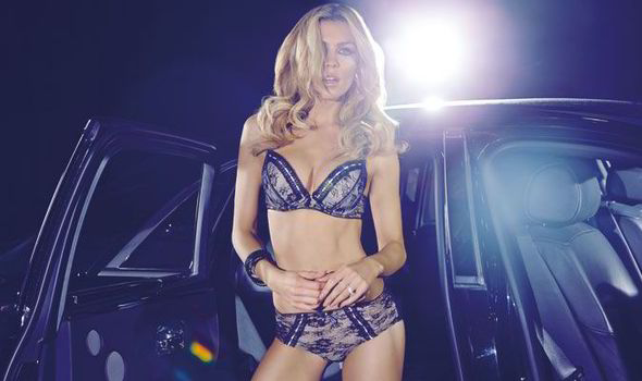 Abbey Clancy looks stunning in sexy lingerie photo shoot for her ... b5dfe558c
