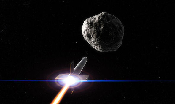 Image result for asteroid defense spacecraft