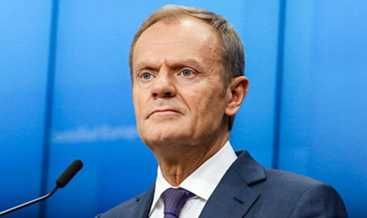 Image result for DONALD TUSK DAILY EXPRESS
