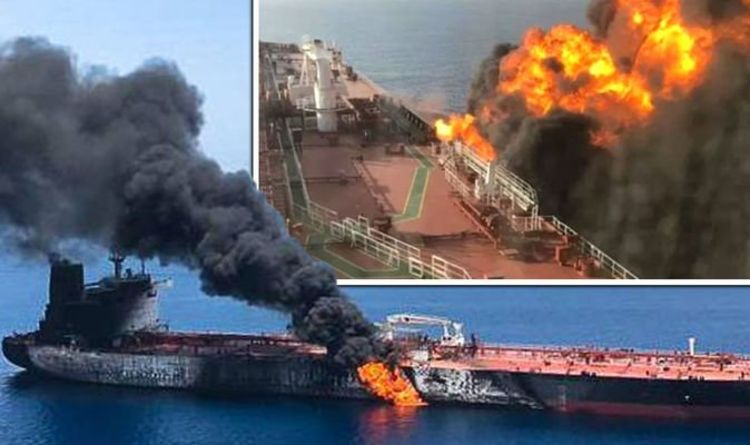Oil tanker attack: Ship owner rubbishes torpedo attack 'something
