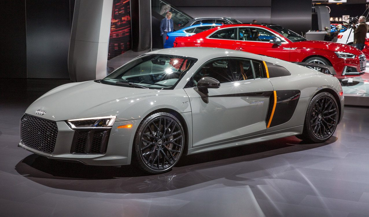 One Of Only 25 Built 2017 Audi R8 V10 Plus Exclusive For
