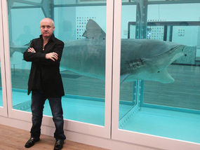 8m For Damien Hirst S Shark What A Pickle Art Is In Express Comment Comment Express Co Uk