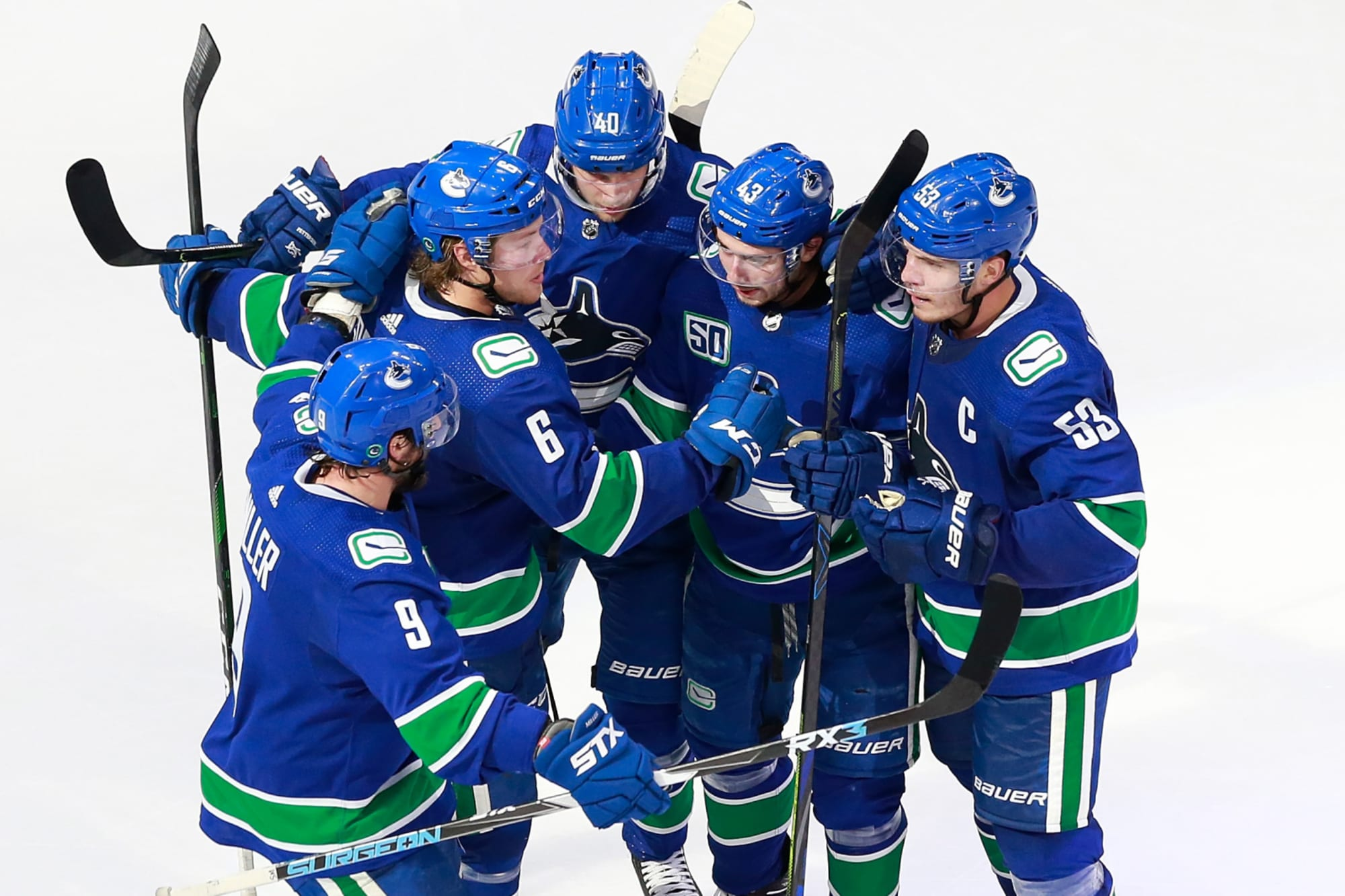 The Canucks Would Be The Team To Beat In An All Canadian Division