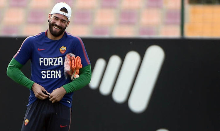 0daf45384 Liverpool transfer news  Alisson Becker update with agent to meet Roma  chiefs TODAY
