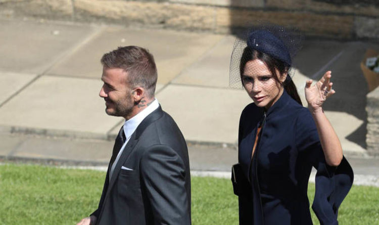 Royal Wedding 2018 Guests Are Victoria Beckham And David Beckham At