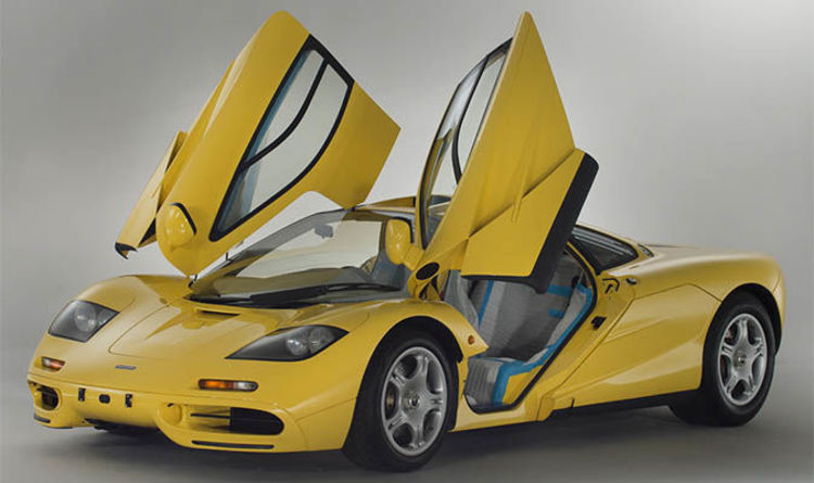 mclaren f1 1996 for sale - price for classic car could exceed £12