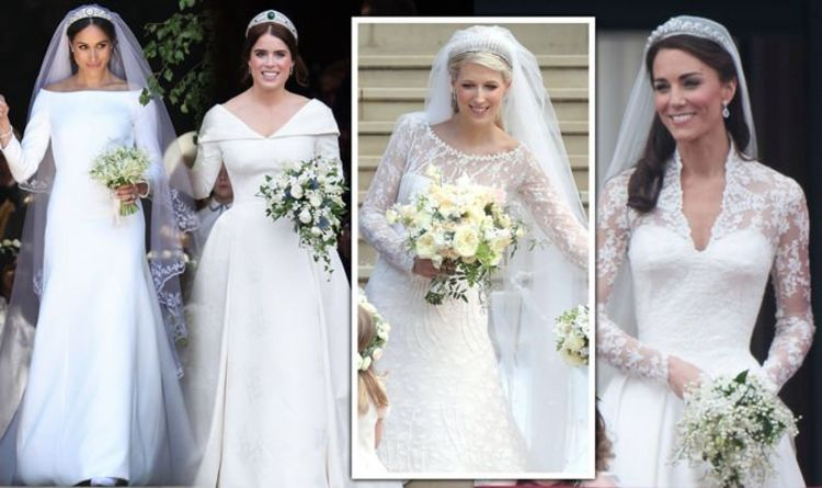 Kate Middletons Wedding Dresses.Lady Gabriella Windsor Wedding Dress Compared To Meghan
