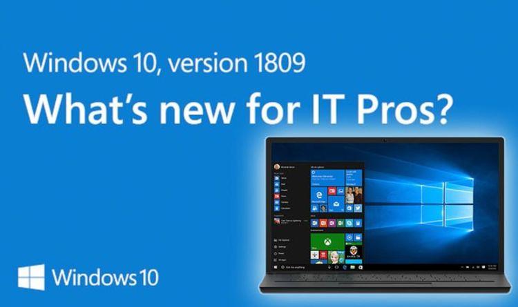 windows 10 1809 audio fix