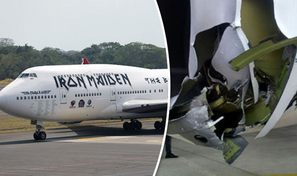 Two Injured After Iron Maiden S Private Jet Involved In Airport
