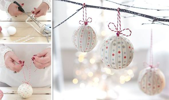 Christmas, decoration, DIY, handmade, Victoria Gray