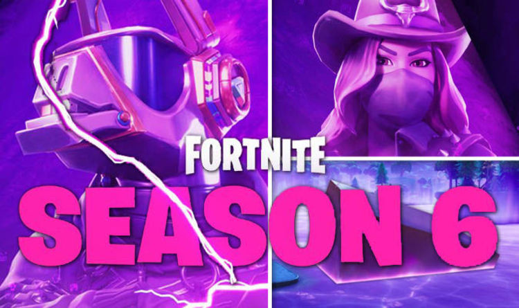 Fortnite Season 6 Countdown Release Time Skins Servers Down Cube