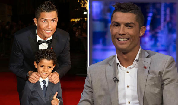 Cristiano Ronaldo Reveals He Will Tell Son About His Biological