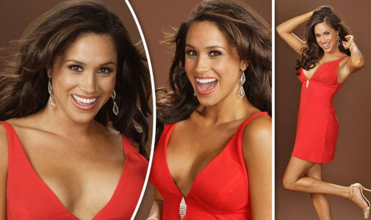Meghan Markle Risks Nip Slip In Red Hot Dress Celebrity News