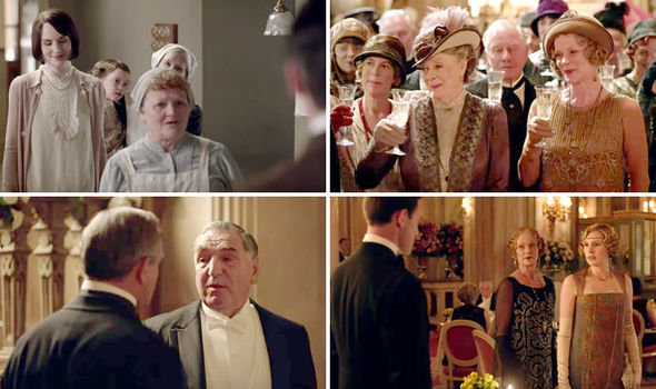 scenes from the last ever episode of downton abbey - Downton Abbey Christmas Special